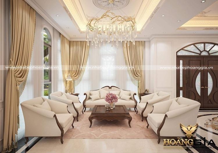 thiết kế nội thất tân cổ điển Châu Âu