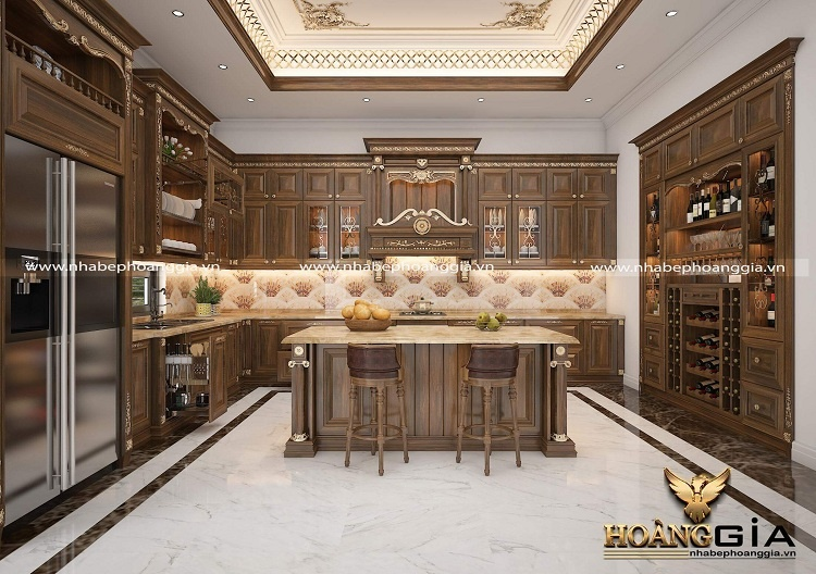 thiết kế thi công tủ bếp Hải Phòng