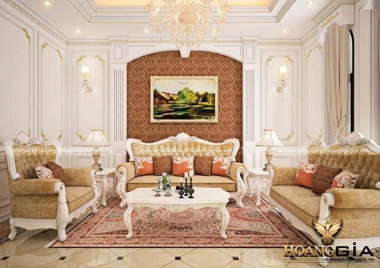 mẫu sofa gỗ sồi