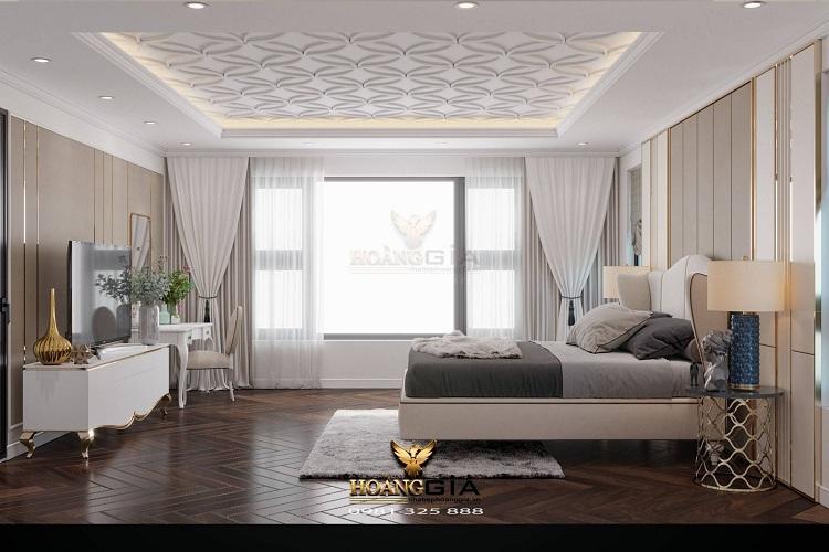 thiết kế phòng ngủ tân cổ điển CG