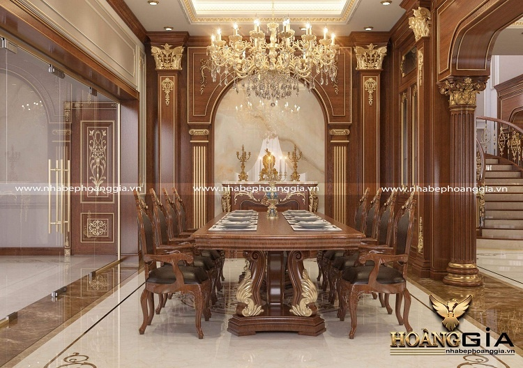 thiết kế nội thất biệt thự tân cổ điển