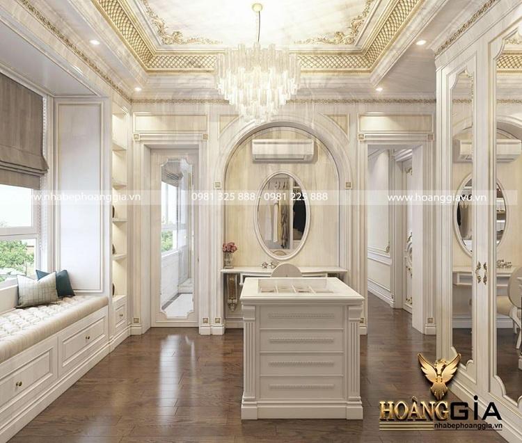 thiết kế nội thất phong cách hoàng gia