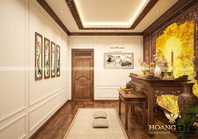 thiết kế bàn thờ Phật tại nhà