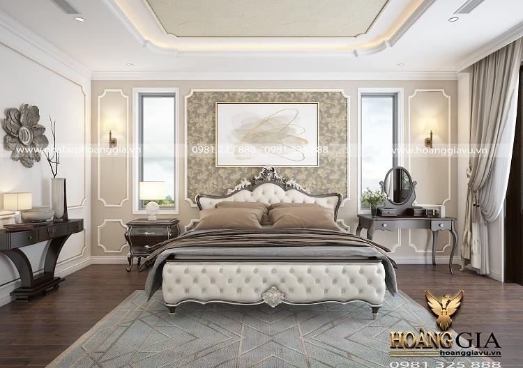 thiết kế nội thất tân cổ điển cho nhà biệt thự