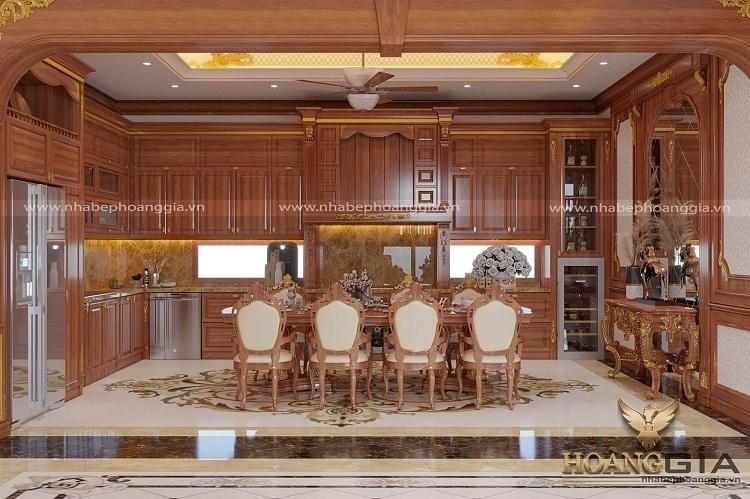 showroom nội thất gỗ tự nhiên tại Hà Nội