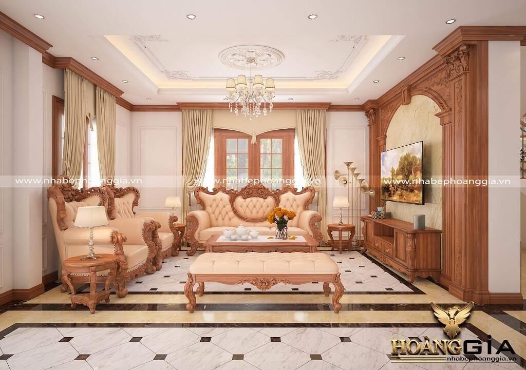 thiết kế thi công nội thất biệt thự