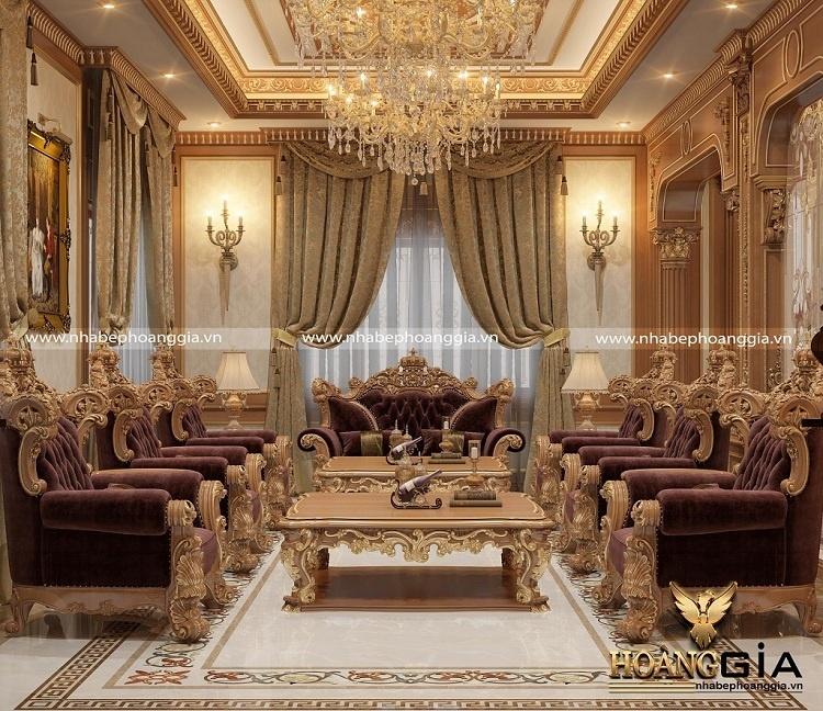 mẫu sofa gỗ tự nhiên đẹp nhất 2021