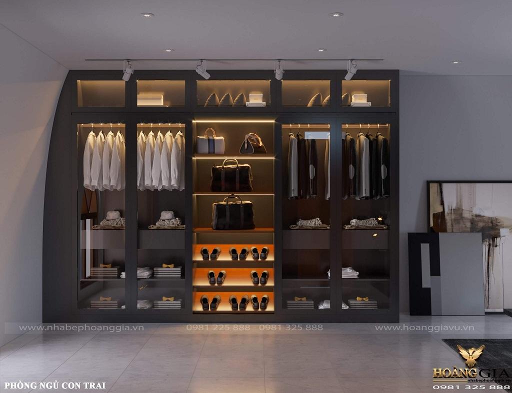 mẫu thiết kế nội thất biệt thự tân cổ điển nhà anh Vĩnh (Hoài Đức, Hà Nội)