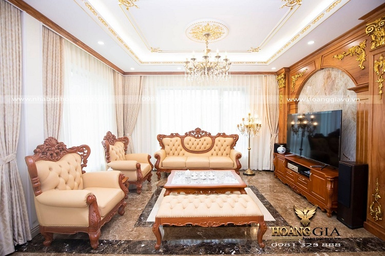 nên mua sofa tân cổ điển nhập khẩu hay nội địa