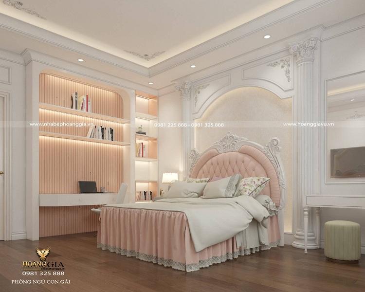 thiết kế nội thất tân cổ điển nhà biệt thự