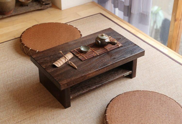 mẫu bàn trà kiểu Nhật