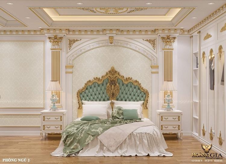 thiết kế phòng ngủ tân cổ điển cho con gái