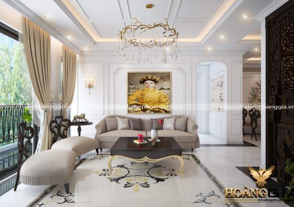 Dự án thiết kế nội thất chung cư nhà chị Yến Goldmark City