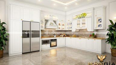 Những mẫu tủ bếp sơn trắng hiện đại đẹp nhất