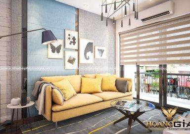 Mẫu thiết kế phòng khách hiện đại PKHD01