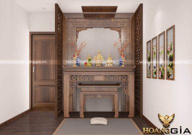 Mẫu bàn thờ cho Nhà Chung Cư đẹp