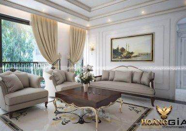 Xu hướng thiết kế nội thất tân cổ điển cho chung cư