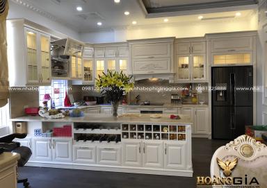 Dự án thi công tủ bếp nhà anh Ngọc Hoàng Quốc Việt