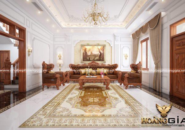 Dự án thiết kế nội thất nhà Chị Thảo TP.Bắc Giang