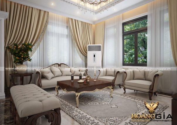 Dự án thiết kế nội thất biệt thự nhà anh Thịnh TP. Bắc Ninh