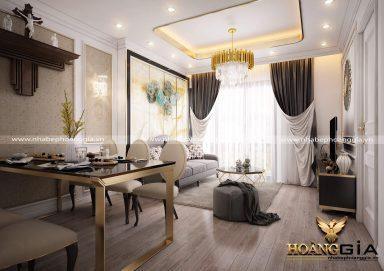 Thiết kế nội thất tân cổ điển đẹp cho nhà chung cư