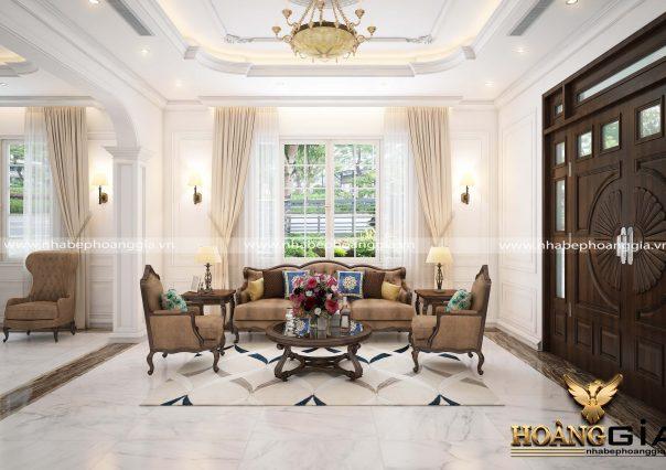 Dự án thiết kế nội thất tân cổ điển Nhà Chú Thính Hạ Long