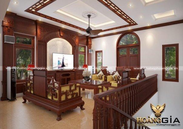 Dự án thiết kế nội thất gỗ Hương Nhà Chị Lan Đông Anh