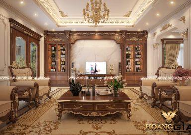 Thiết kế nội thất tân cổ điển dát vàng – xu hướng 2019