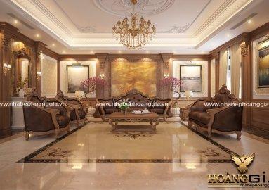 Chiêm Ngưỡng dự án thiết kế biệt thự nhà anh Tuấn Ninh Bình