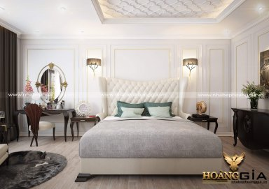 Mẫu thiết kế phòng ngủ phong cách tân cổ điển PNTCD 29