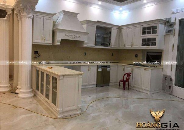 Dự án thi công tủ bếp nhà chị Hồng (Phủ Lý, Hà Nam)