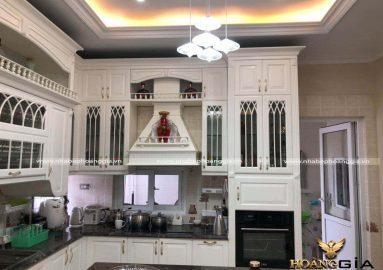 Hình ảnh thực tế tủ bếp nhà chị Thùy (Bắc Giang) sau 05 năm sử dụng