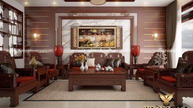 Tư vấn lựa chọn bàn ghế đồng kỵ cho phòng khách tân cổ điển