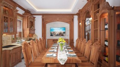 Tìm hiểu bàn ghế gỗ gõ đỏ có bị mối mọt không?
