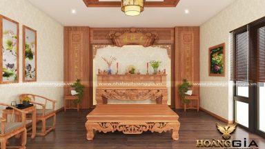 Tìm hiểu bàn thờ nên dùng gỗ gì là tốt nhất?