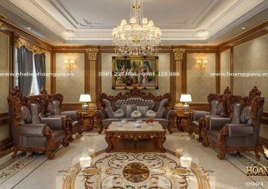 Hướng dẫn trang trí phòng khách cổ điển sang trọng, đẳng cấp