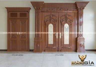 Mẫu của gỗ tân cổ điển sang trọng cho nhà biệt thự