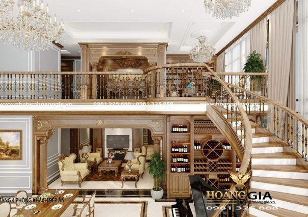 Dự án thiết kế thi công nội thất tân cổ điển cho căn hộ Penhouse nhà anh Dũng