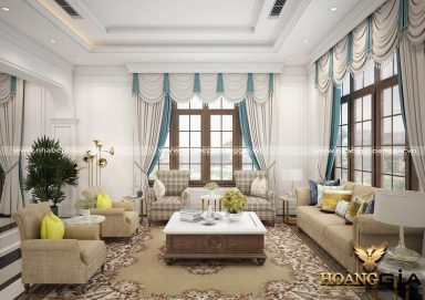 Dự án thiết kế và thi công nội thất biệt thự Vinhomes Riverside Hoa Anh Đào