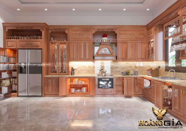Dự án thiết kế tủ bếp nhà chú Ngân (Tây Nguyên)