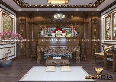 [Khám Phá] mẫu bàn thờ đẹp cho nhà biệt thự