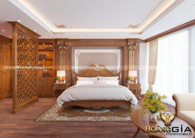 Tư vấn lựa chọn giường gỗ tân cổ điển đẹp sang trọng