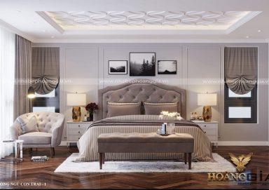 Nét tinh tế của mẫu giường ngủ tân cổ điển phong cách Christopher Guy