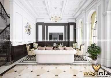 Phòng khách đẹp phong cách tân cổ điển PKTCD13