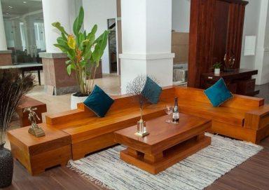 Tư vấn lựa chọn kích thước sofa gỗ nguyên khối phù hợp