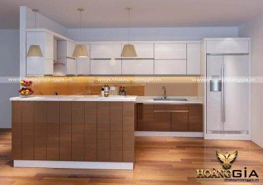 Mẫu tủ bếp Acrylic02