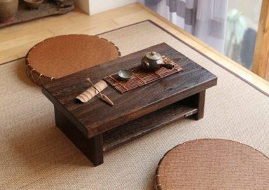 Top 10 mẫu bàn trà kiểu Nhật HOT nhất hiện nay