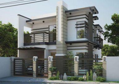 Tổng hợp các mẫu biệt thự 2 tầng hiện đại đẹp