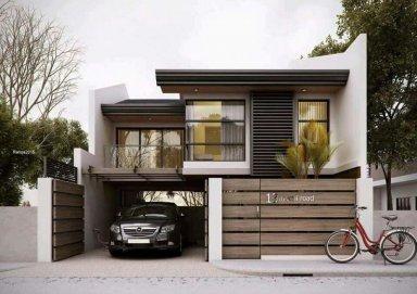 Ý tưởng thiết kế biệt thự phố mặt tiền 7m đầy thu hút