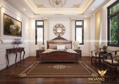 Mẫu thiết kế nội thất phòng ngủ tân cổ điển TCĐ 44